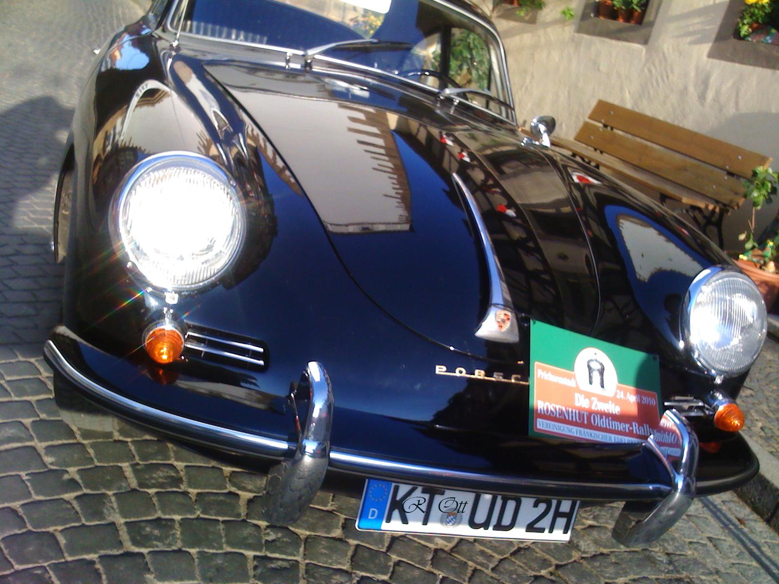 Prichsenstadt Oldtimer Rallye 2010 Porsche 356