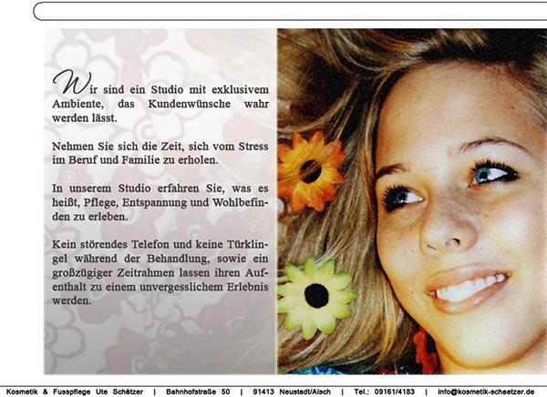 Kosmetik Schätzer Neustadt Aisch Kosmetikstudio Steigerwald-News