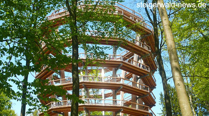 Baumwipfelpfad Steigerwald ist wieder geöffnet