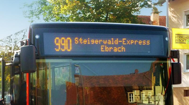 Ausflüge mit dem Steigerwald Express Franken Freizeit Bamberg Burgebrach