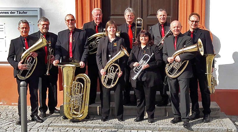 very british Blechbläserensemble Trumpet Voluntary Kirche Schlüsselfeld Konzert 2019