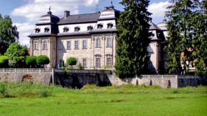Burgwindheim Schloss Pilgerlager mittelalterlich Markt Gemeinde Veranstaltung