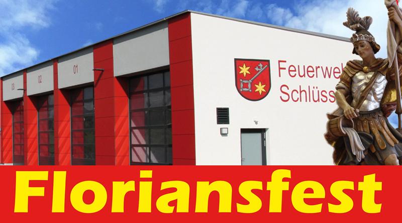 Floriansfest Schlüsselfeld FFW Schlüsselfeld Mai 2019 Feuerwehrhaus Kirche