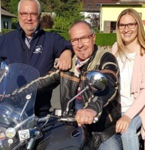 Projektleiter Ulrich Neff Lorenz Dorn Jasmin Glück Gesangverein im Steigerwald Burgebrach e V