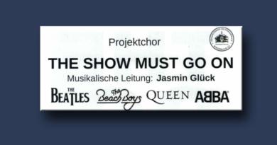 Burgebrach Projektchor Proben Juni 2019 Start Musik