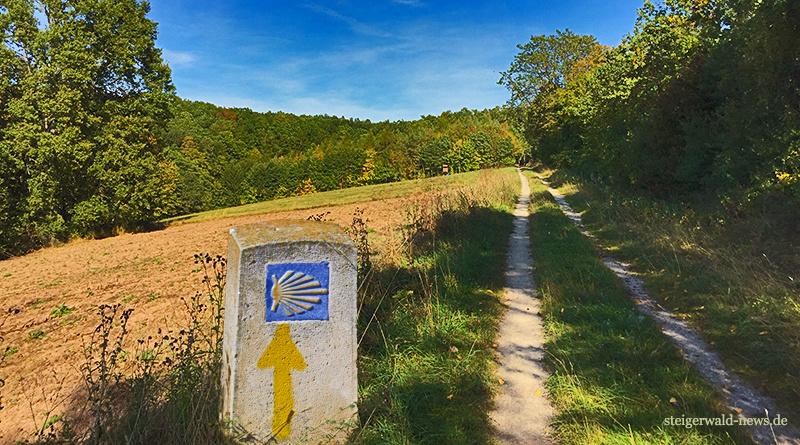 Jakobsweg Burgebrach Schlüsselfeld wandern heimat freizeit