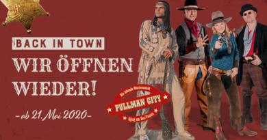 Pullman City eröffnet die Saison 2020